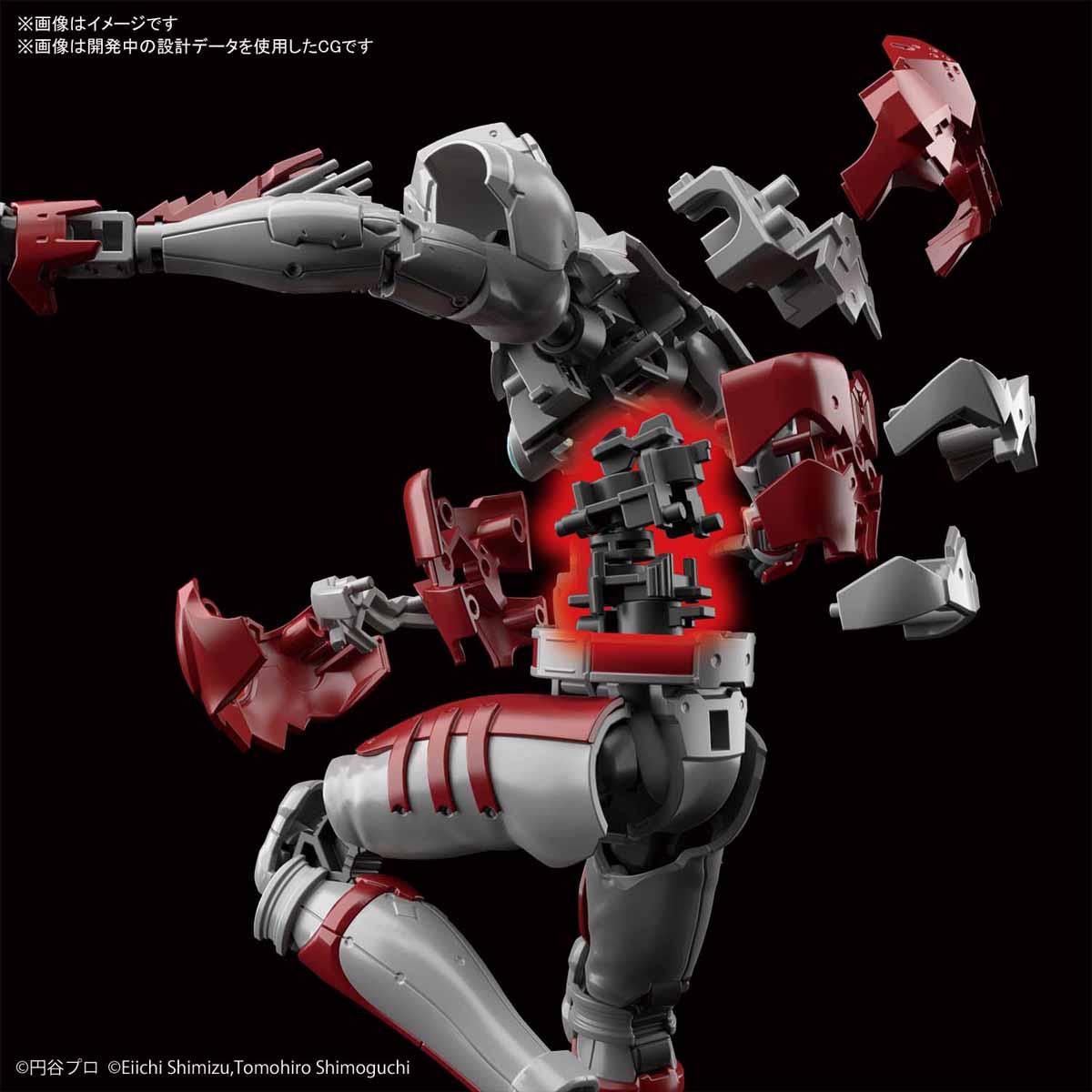 Figure-rise Standard『ULTRAMAN SUIT A -ACTION-』ウルトラマン エーススーツ 1/12 プラモデル-003