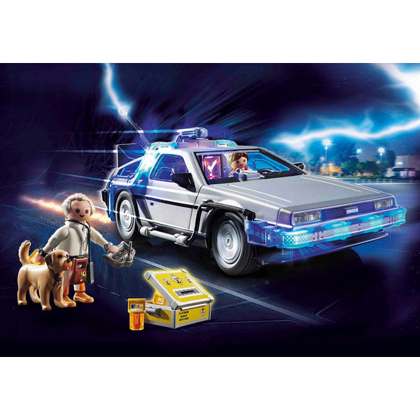 プレイモービル 70317『デロリアン』バック・トゥ・ザ・フューチャー 知育玩具