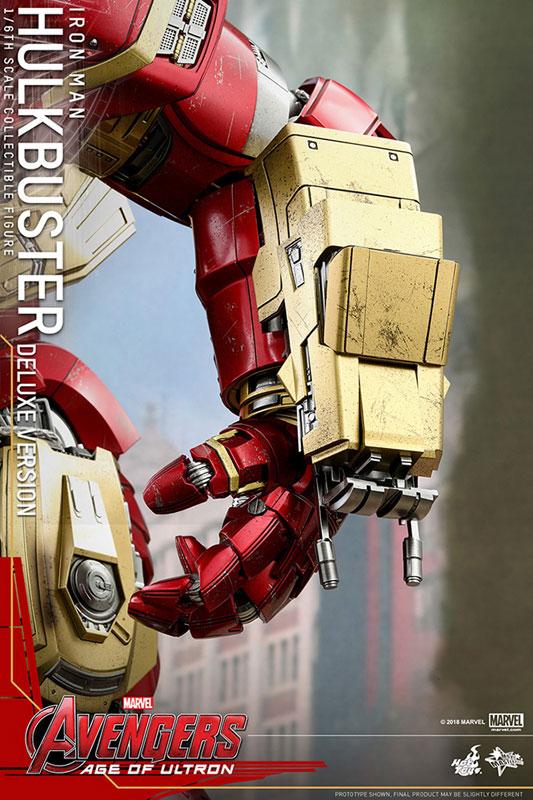 ムービー・マスターピース『ハルクバスター〔DX版〕』1/6 アベンジャーズ 可動フィギュア-025