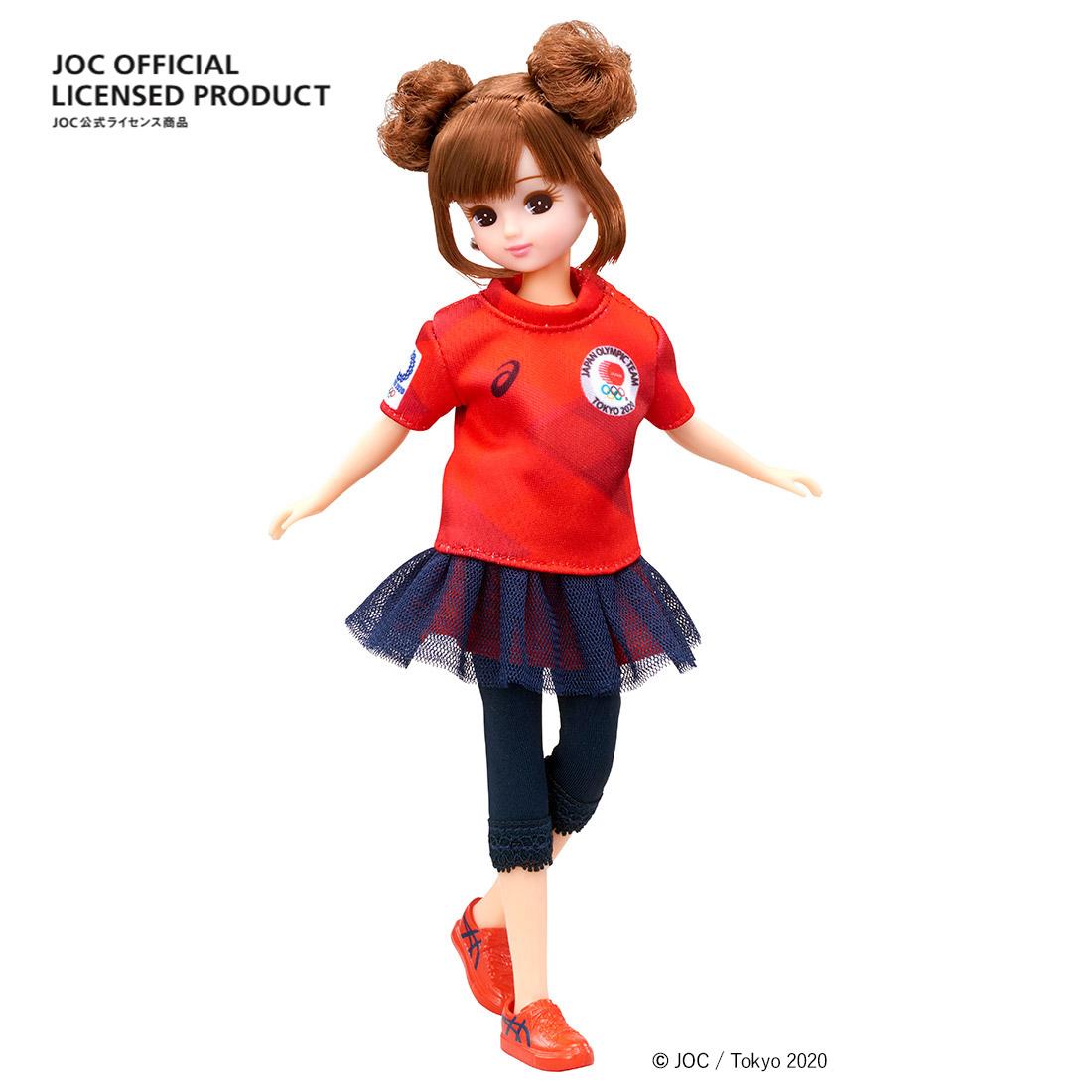 【限定販売】JOC公式ライセンス商品『サポーターリカちゃん』完成品ドール-001
