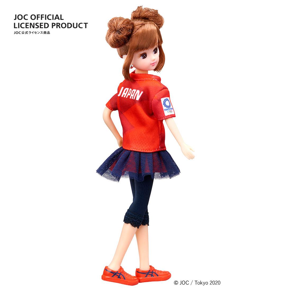 【限定販売】JOC公式ライセンス商品『サポーターリカちゃん』完成品ドール-002