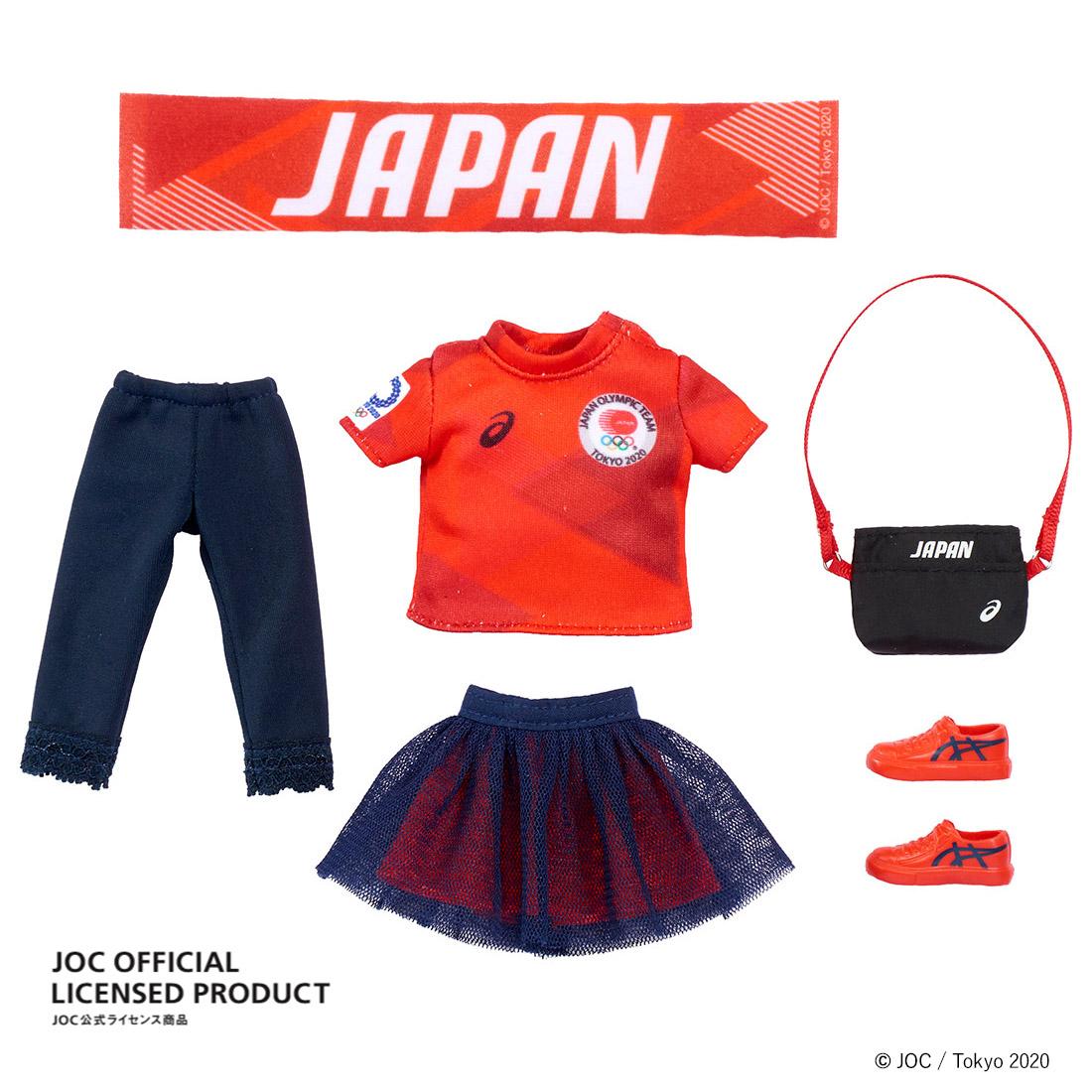 【限定販売】JOC公式ライセンス商品『サポーターリカちゃん』完成品ドール-003