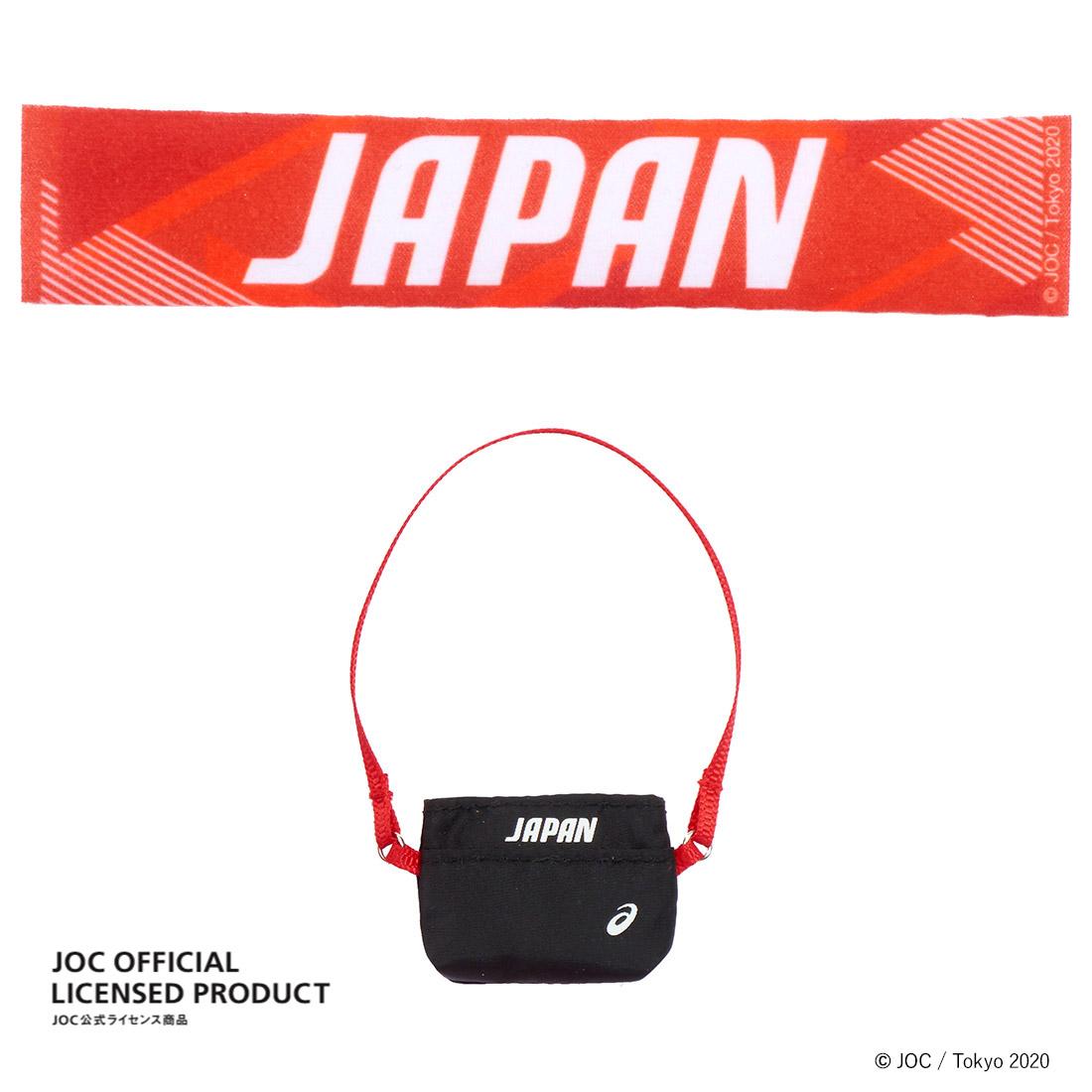 【限定販売】JOC公式ライセンス商品『サポーターリカちゃん』完成品ドール-004