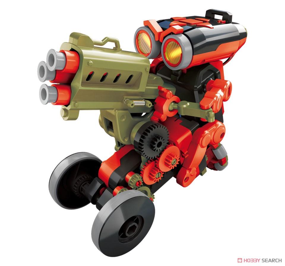 エレキット『コードランナー』ロボット工作キット-002