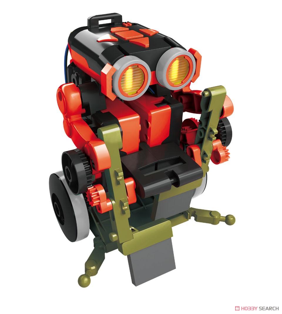 エレキット『コードランナー』ロボット工作キット-003