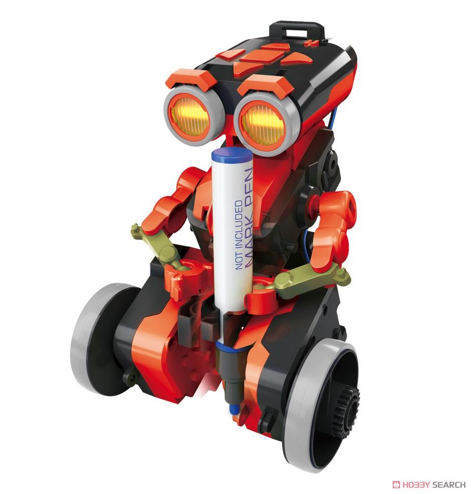 エレキット『コードランナー』ロボット工作キット-004