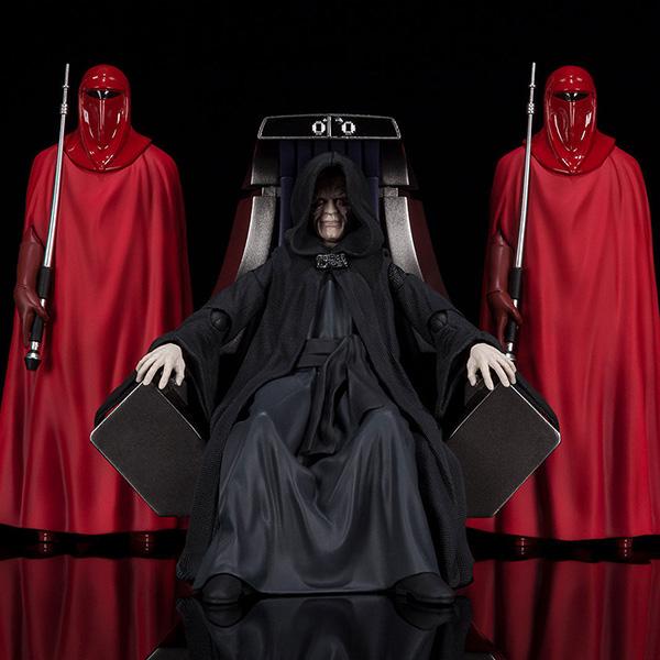 【限定販売】S.H.Figuarts『パルパティーン皇帝 -Death Star II Throne Room Set-(STAR WARS:Return of the Jedi)』可動フィギュア