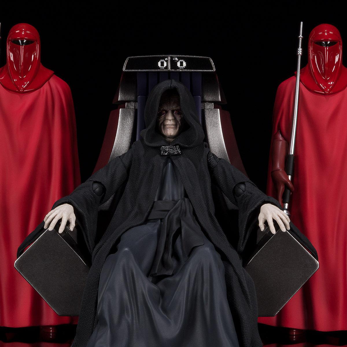 【限定販売】S.H.Figuarts『パルパティーン皇帝 -Death Star II Throne Room Set-(STAR WARS:Return of the Jedi)』可動フィギュア-001