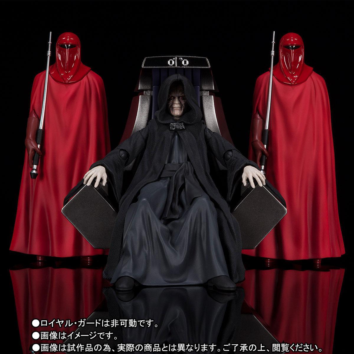 【限定販売】S.H.Figuarts『パルパティーン皇帝 -Death Star II Throne Room Set-(STAR WARS:Return of the Jedi)』可動フィギュア-002