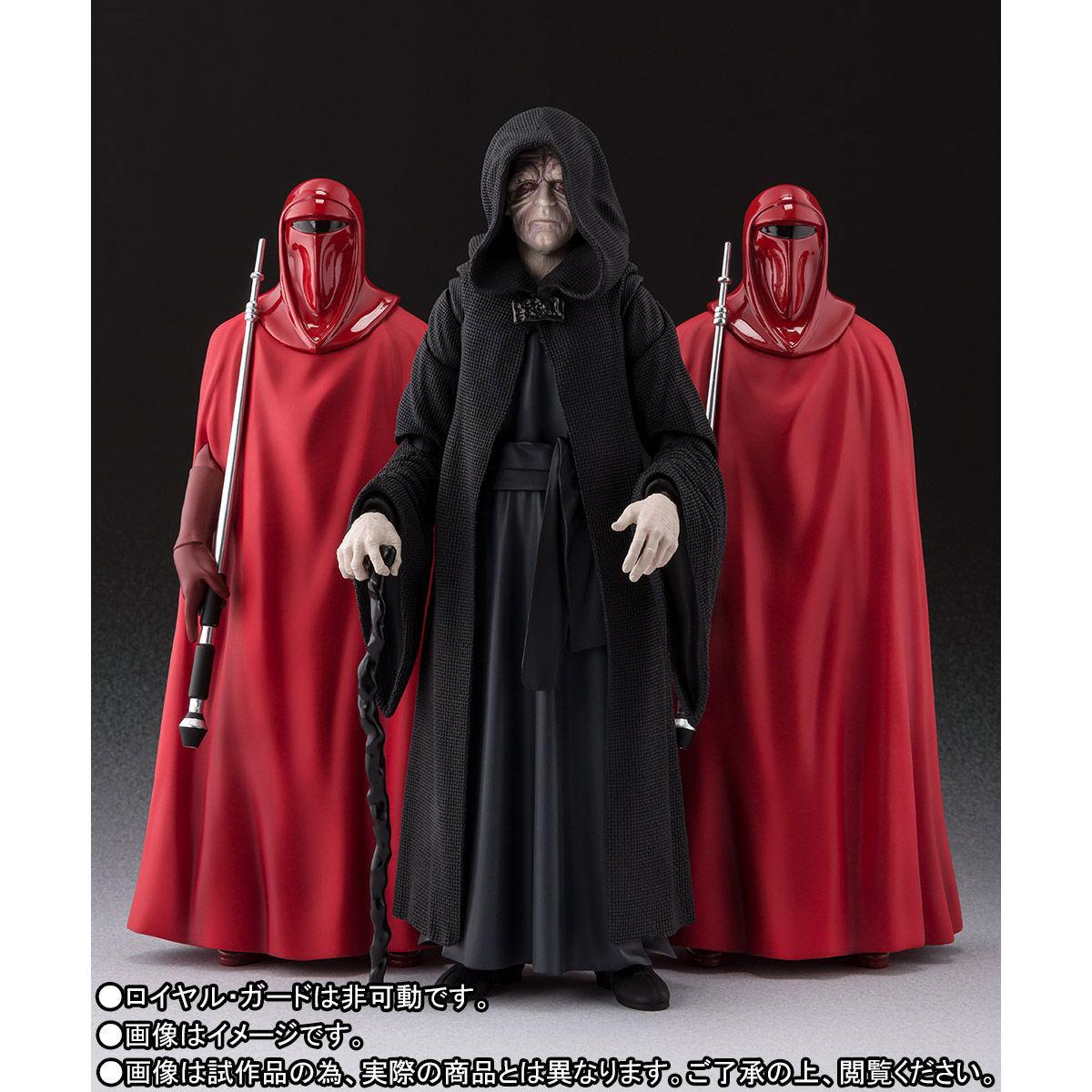 【限定販売】S.H.Figuarts『パルパティーン皇帝 -Death Star II Throne Room Set-(STAR WARS:Return of the Jedi)』可動フィギュア-003