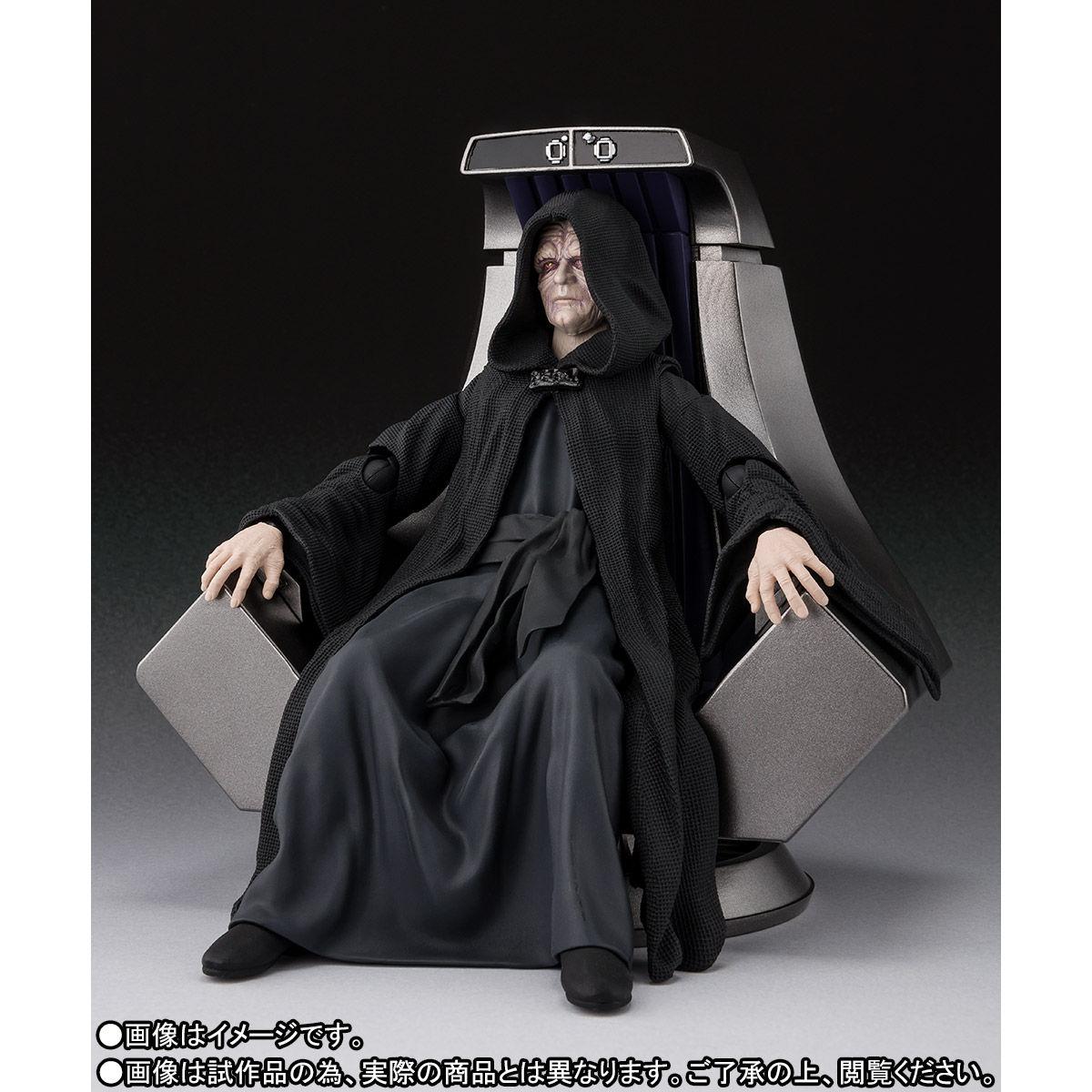 【限定販売】S.H.Figuarts『パルパティーン皇帝 -Death Star II Throne Room Set-(STAR WARS:Return of the Jedi)』可動フィギュア-004