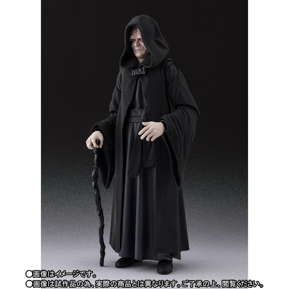 【限定販売】S.H.Figuarts『パルパティーン皇帝 -Death Star II Throne Room Set-(STAR WARS:Return of the Jedi)』可動フィギュア-005