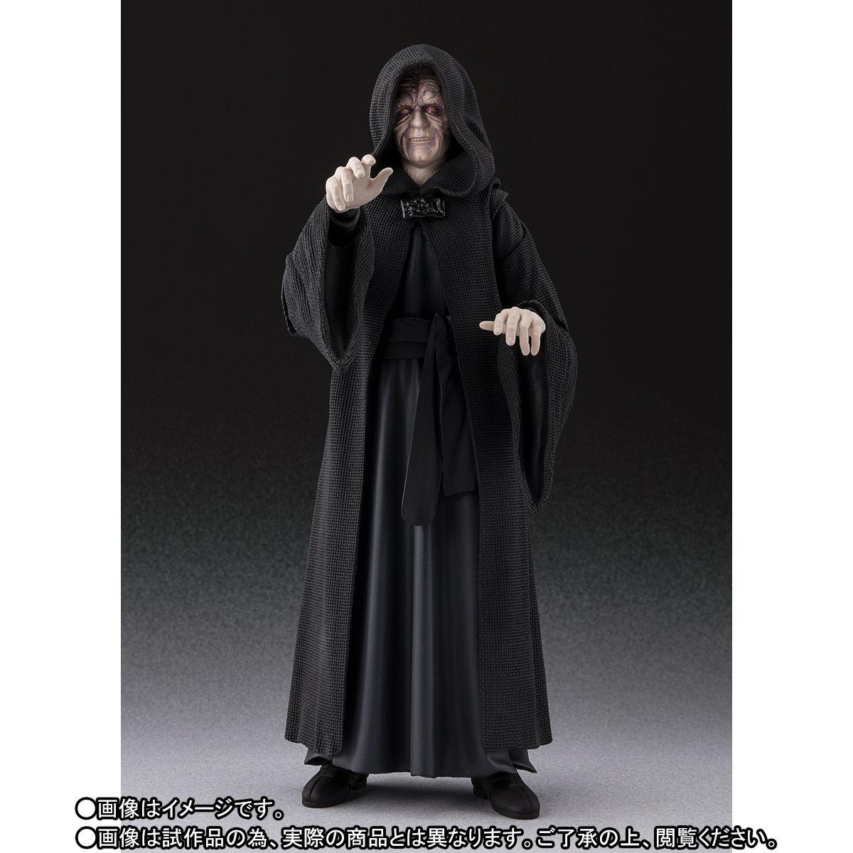 【限定販売】S.H.Figuarts『パルパティーン皇帝 -Death Star II Throne Room Set-(STAR WARS:Return of the Jedi)』可動フィギュア-006