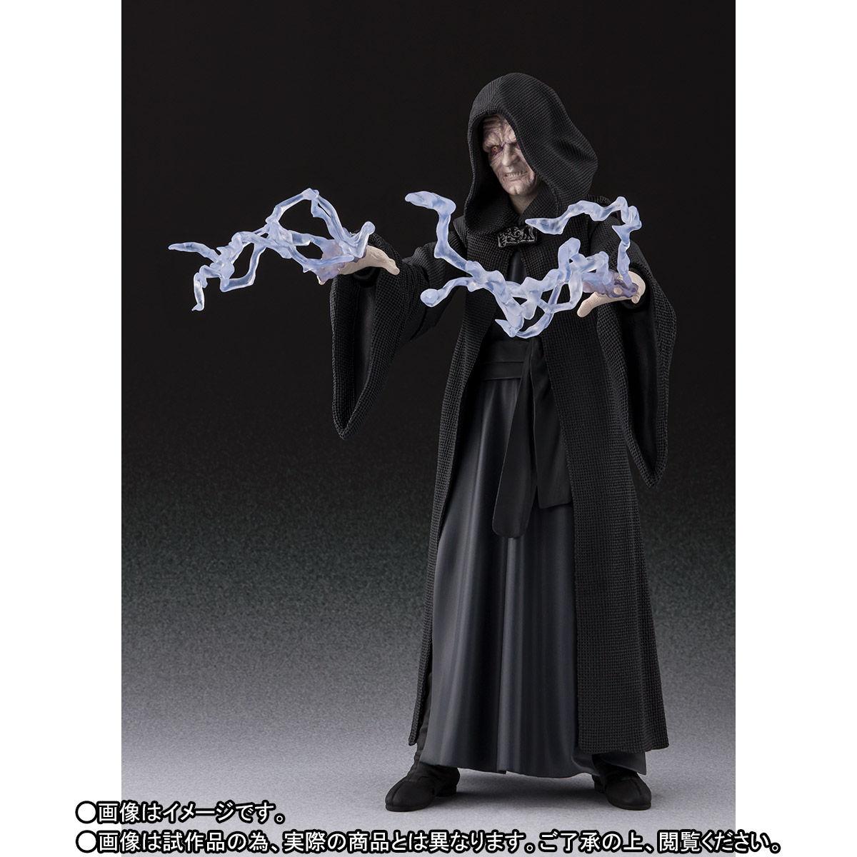 【限定販売】S.H.Figuarts『パルパティーン皇帝 -Death Star II Throne Room Set-(STAR WARS:Return of the Jedi)』可動フィギュア-007