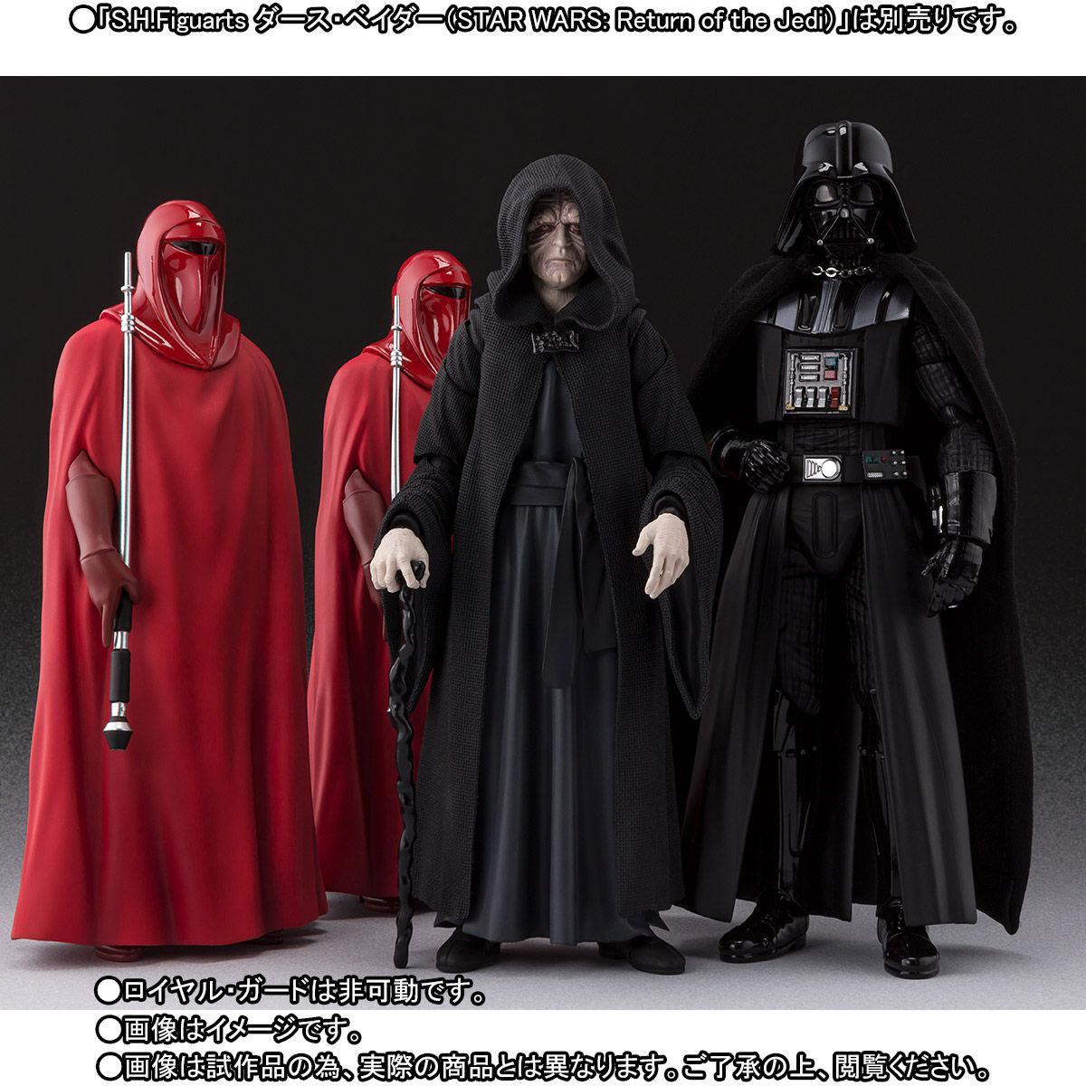 【限定販売】S.H.Figuarts『パルパティーン皇帝 -Death Star II Throne Room Set-(STAR WARS:Return of the Jedi)』可動フィギュア-008