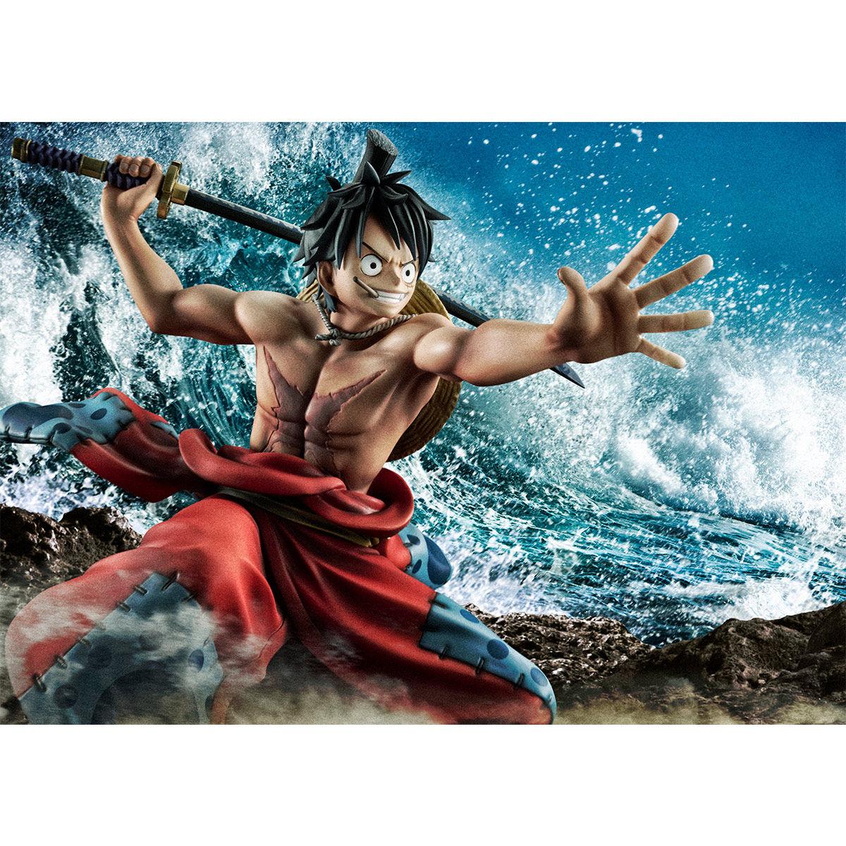"""【限定販売】Portrait.Of.Pirates ワンピース """"Warriors Alliance""""『ルフィ太郎』完成品フィギュア-010"""
