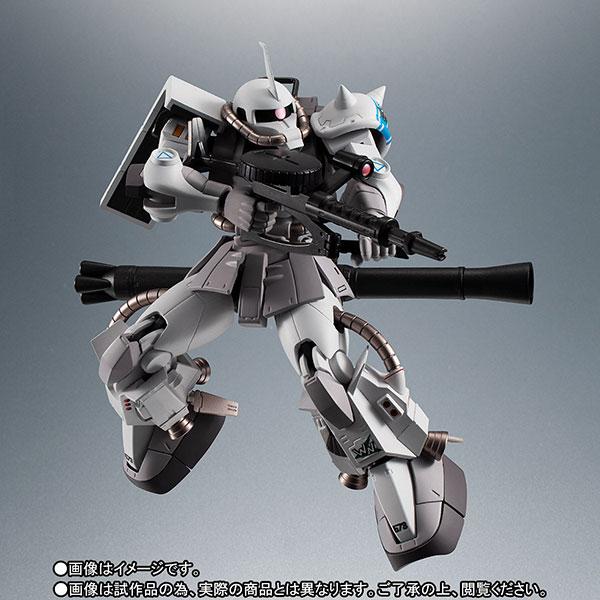 【限定販売】ROBOT魂〈SIDE MS〉『MS-06R-1A シン・マツナガ専用高機動型ザクII ver. A.N.I.M.E.』ダンダムMSV 可動フィギュア