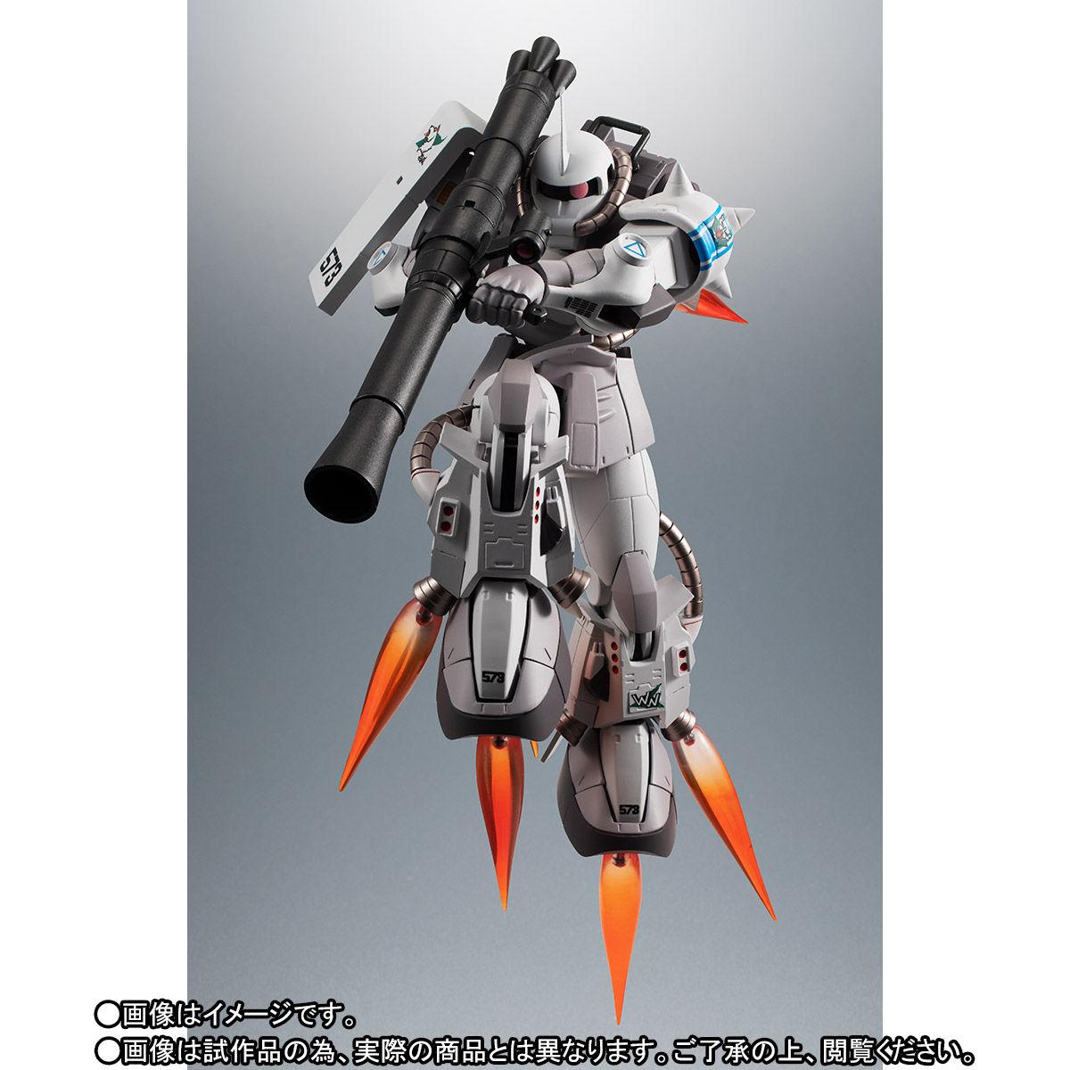 【限定販売】ROBOT魂〈SIDE MS〉『MS-06R-1A シン・マツナガ専用高機動型ザクII ver. A.N.I.M.E.』ダンダムMSV 可動フィギュア-002
