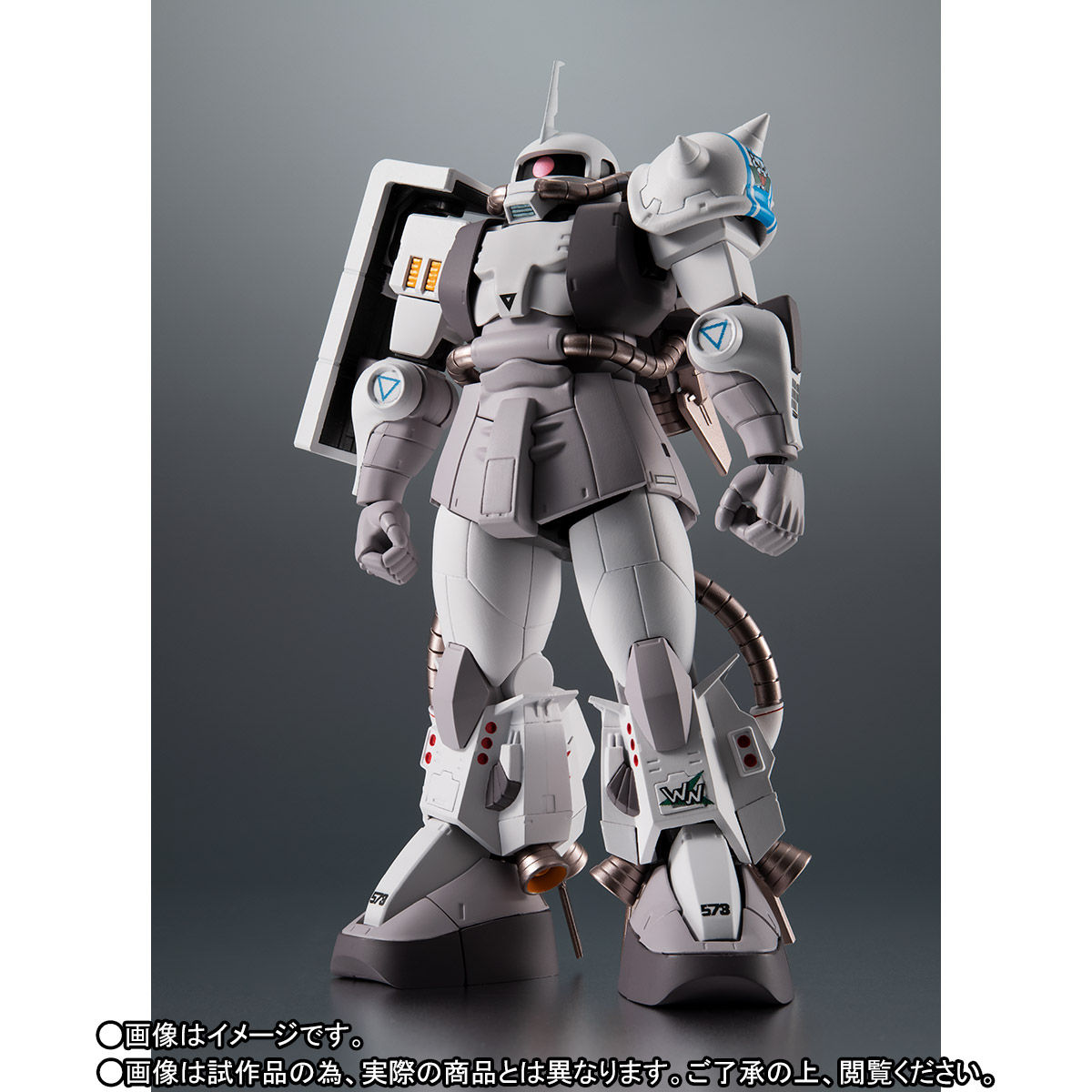 【限定販売】ROBOT魂〈SIDE MS〉『MS-06R-1A シン・マツナガ専用高機動型ザクII ver. A.N.I.M.E.』ダンダムMSV 可動フィギュア-003