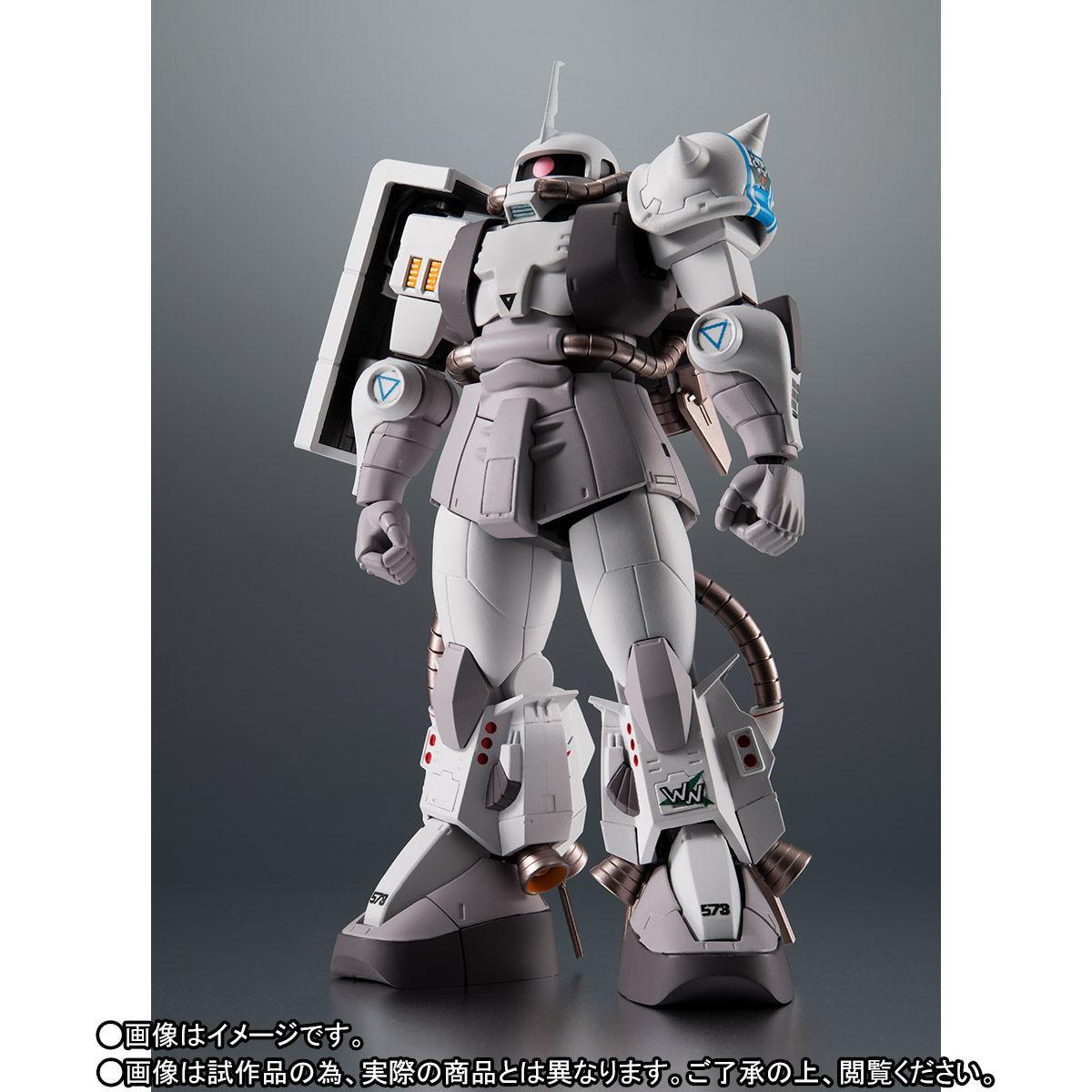 【限定販売】ROBOT魂〈SIDE MS〉『MS-06R-1A シン・マツナガ専用高機動型ザクII ver. A.N.I.M.E.』ガンダムMSV 可動フィギュア-003