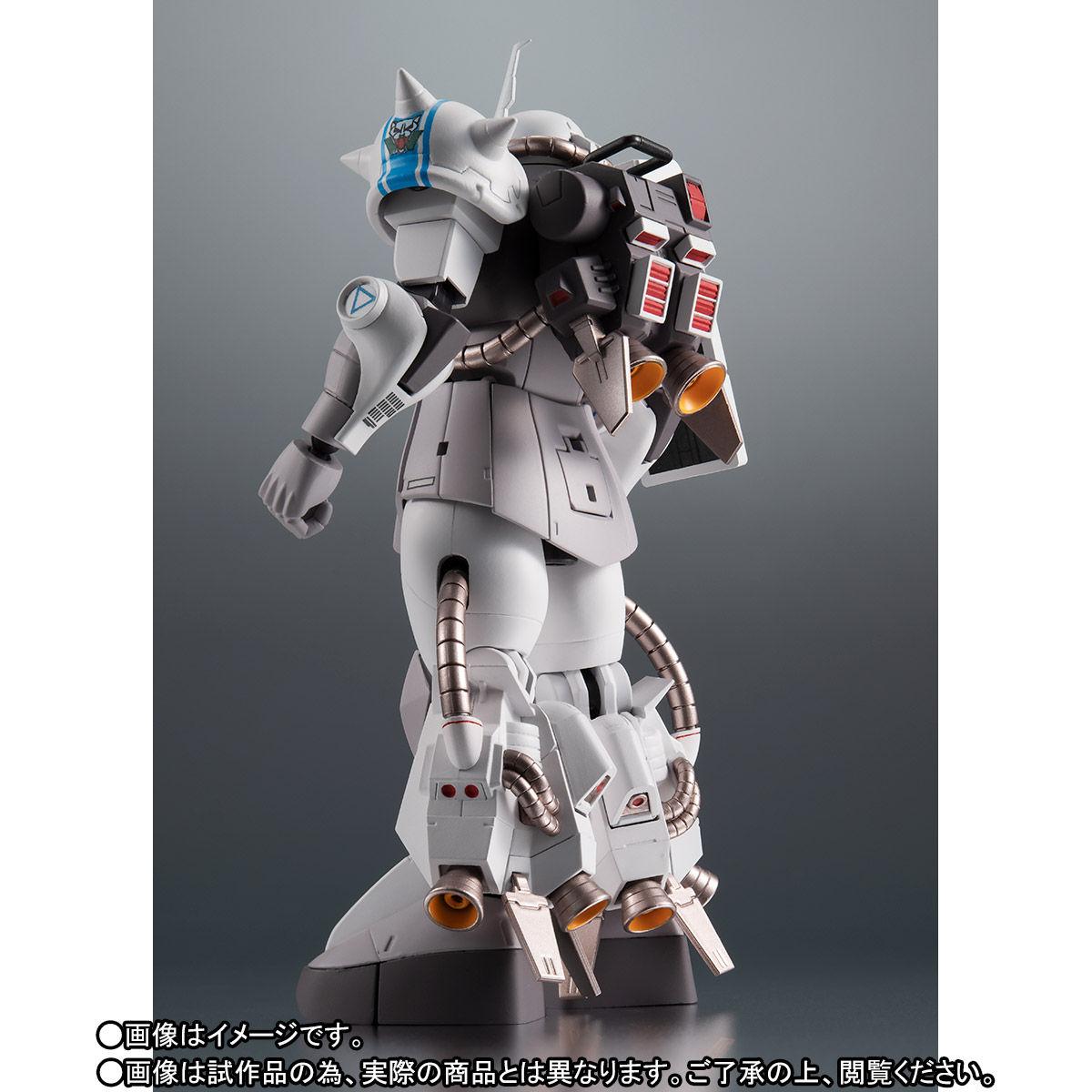 【限定販売】ROBOT魂〈SIDE MS〉『MS-06R-1A シン・マツナガ専用高機動型ザクII ver. A.N.I.M.E.』ダンダムMSV 可動フィギュア-004