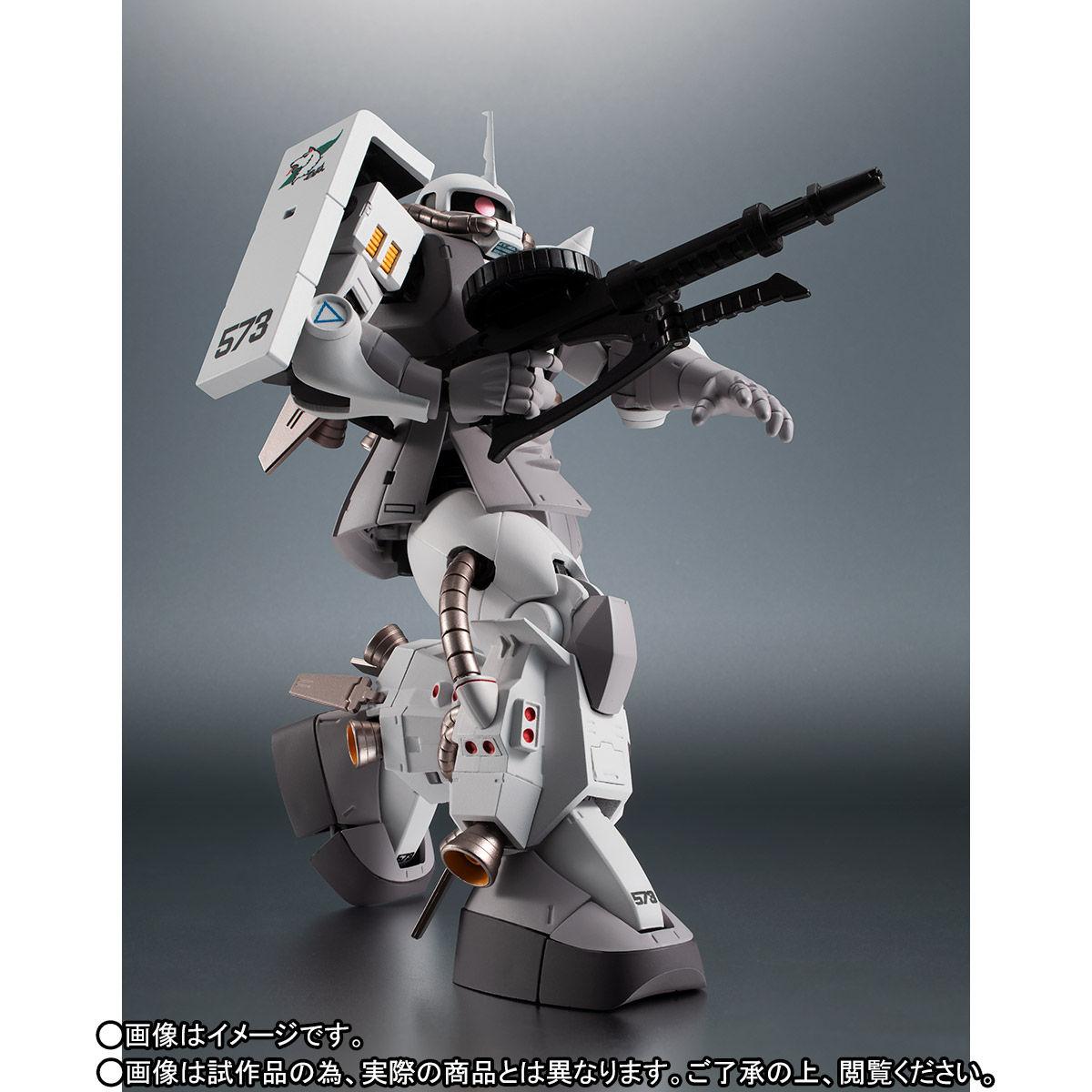 【限定販売】ROBOT魂〈SIDE MS〉『MS-06R-1A シン・マツナガ専用高機動型ザクII ver. A.N.I.M.E.』ダンダムMSV 可動フィギュア-005