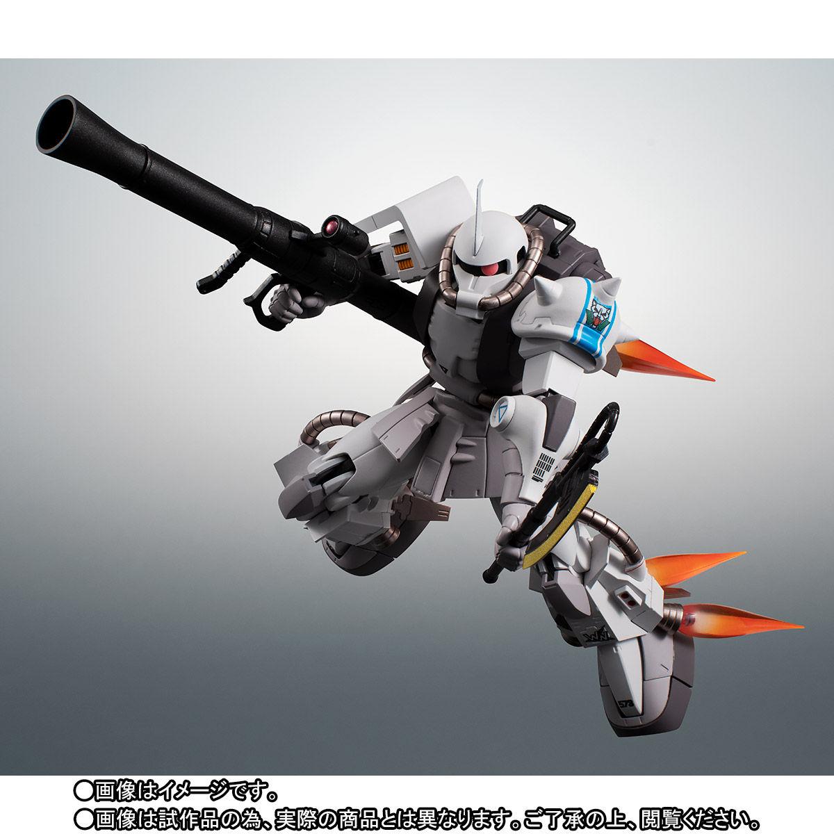 【限定販売】ROBOT魂〈SIDE MS〉『MS-06R-1A シン・マツナガ専用高機動型ザクII ver. A.N.I.M.E.』ダンダムMSV 可動フィギュア-006