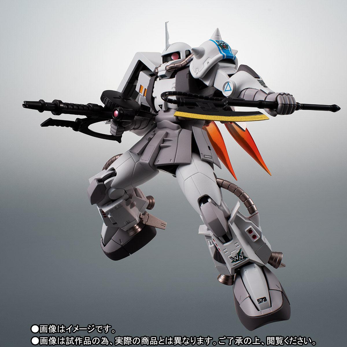 【限定販売】ROBOT魂〈SIDE MS〉『MS-06R-1A シン・マツナガ専用高機動型ザクII ver. A.N.I.M.E.』ダンダムMSV 可動フィギュア-007