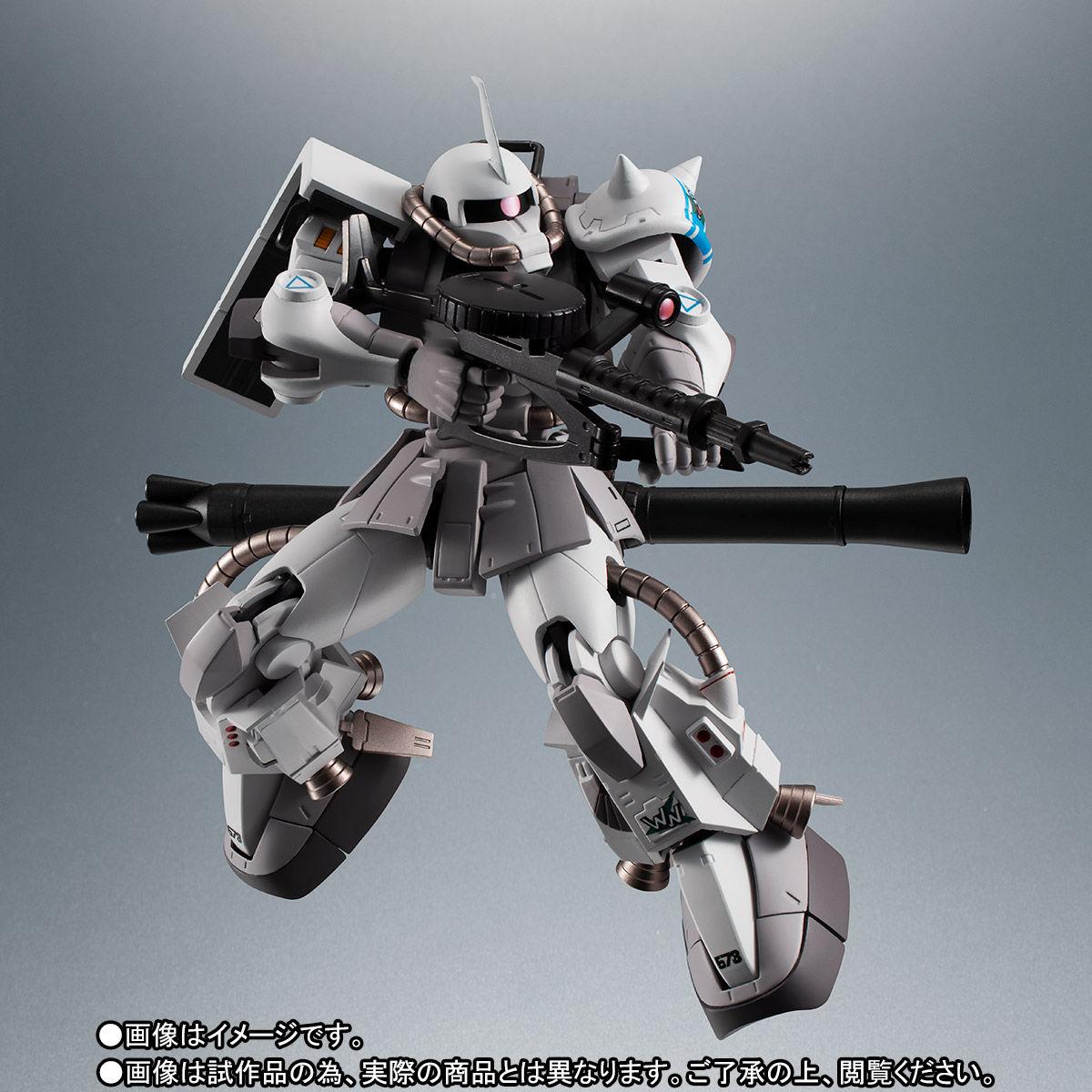 【限定販売】ROBOT魂〈SIDE MS〉『MS-06R-1A シン・マツナガ専用高機動型ザクII ver. A.N.I.M.E.』ダンダムMSV 可動フィギュア-009