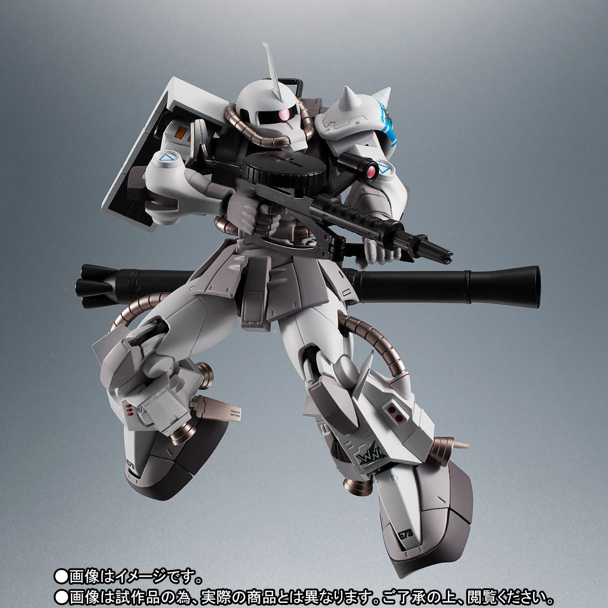 【限定販売】ROBOT魂〈SIDE MS〉『MS-06R-1A シン・マツナガ専用高機動型ザクII ver. A.N.I.M.E.』ガンダムMSV 可動フィギュア-009