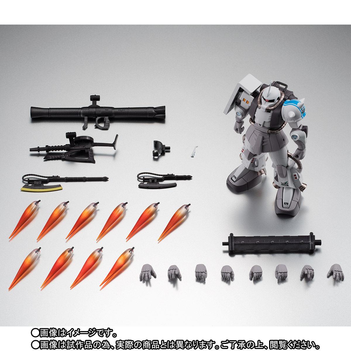 【限定販売】ROBOT魂〈SIDE MS〉『MS-06R-1A シン・マツナガ専用高機動型ザクII ver. A.N.I.M.E.』ダンダムMSV 可動フィギュア-010