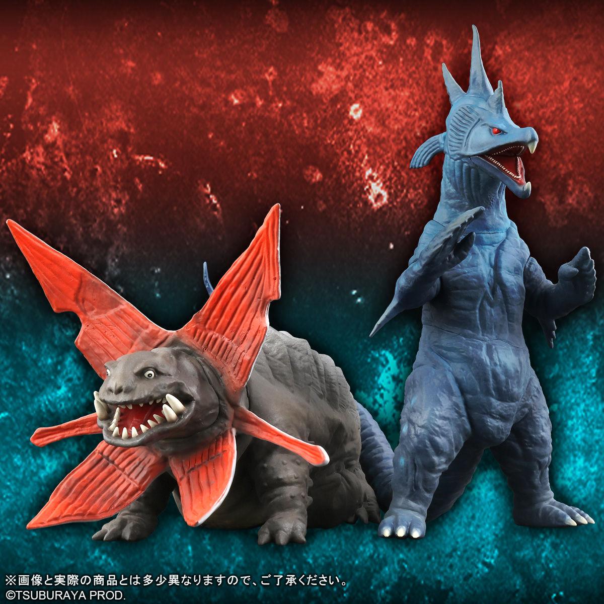 【限定販売】ウルトラ大怪獣シリーズ5000『ガボラ/ムルチ』完成品フィギュア-004