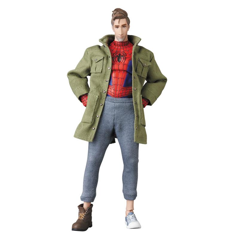 マフェックス No.109 MAFEX『スパイダーマン(ピーター・B・パーカー/Peter B. Parker)』Spider-Man: Into the Spider-Verse アクションフィギュア-001