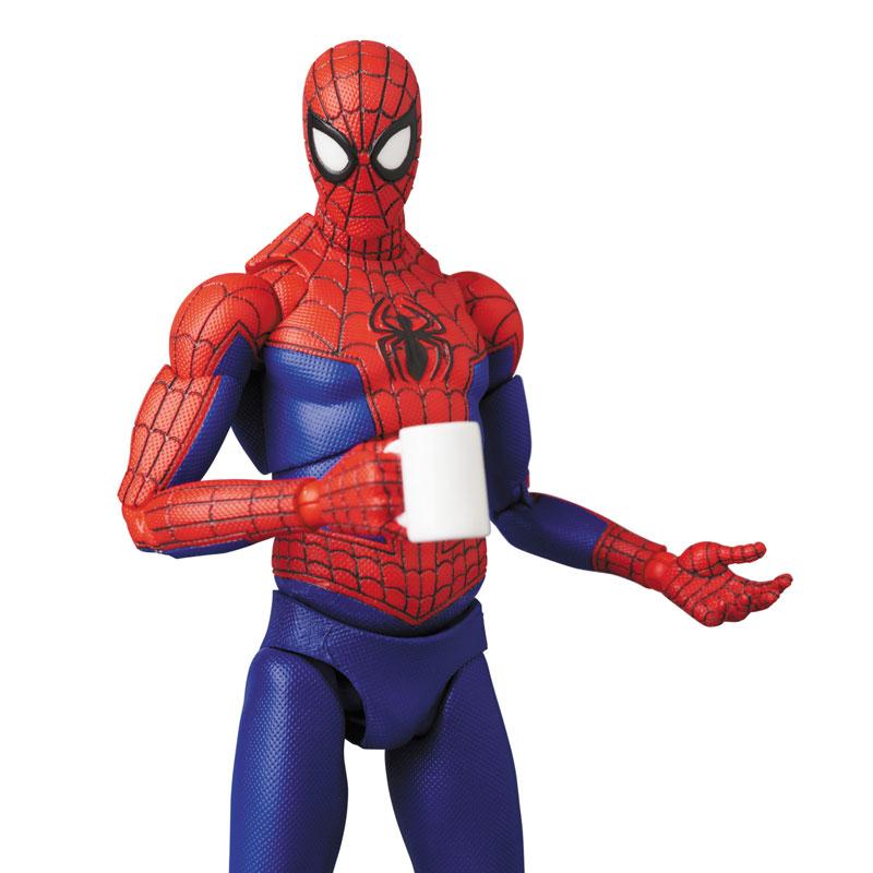 マフェックス No.109 MAFEX『スパイダーマン(ピーター・B・パーカー/Peter B. Parker)』Spider-Man: Into the Spider-Verse アクションフィギュア-002