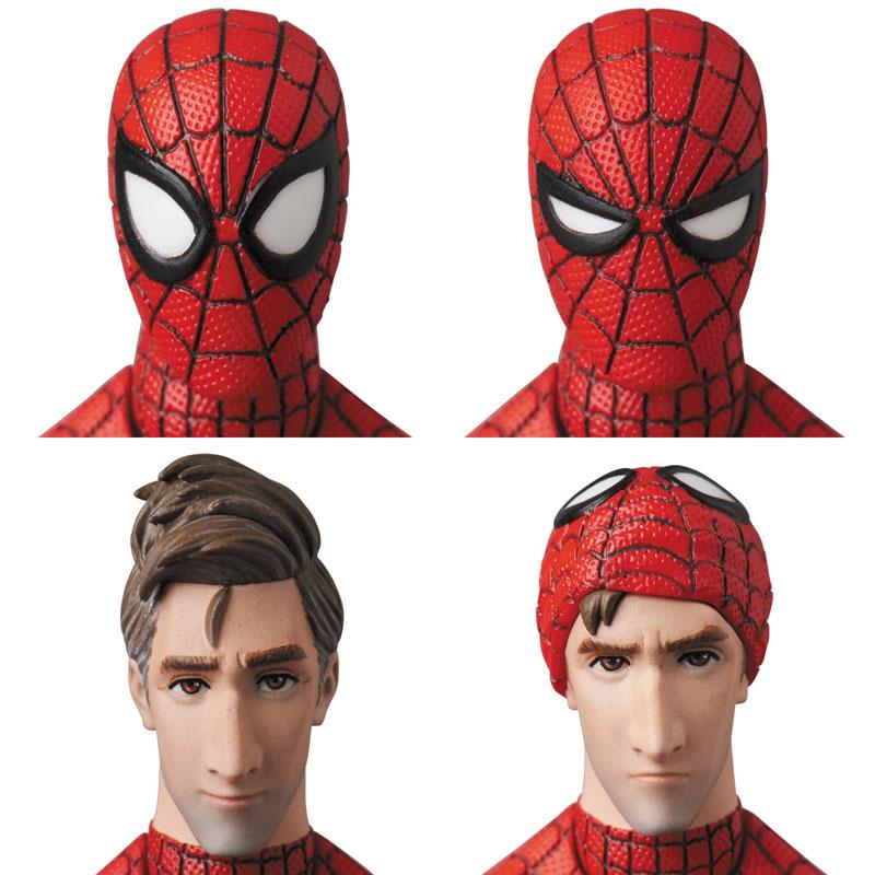 マフェックス No.109 MAFEX『スパイダーマン(ピーター・B・パーカー/Peter B. Parker)』Spider-Man: Into the Spider-Verse アクションフィギュア-003