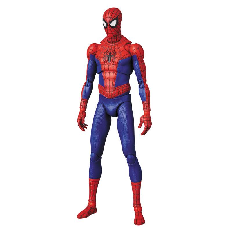 マフェックス No.109 MAFEX『スパイダーマン(ピーター・B・パーカー/Peter B. Parker)』Spider-Man: Into the Spider-Verse アクションフィギュア-005