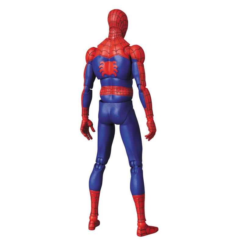 マフェックス No.109 MAFEX『スパイダーマン(ピーター・B・パーカー/Peter B. Parker)』Spider-Man: Into the Spider-Verse アクションフィギュア-006