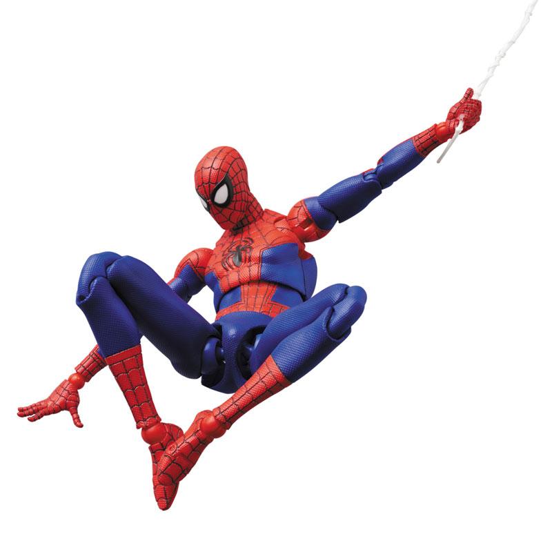マフェックス No.109 MAFEX『スパイダーマン(ピーター・B・パーカー/Peter B. Parker)』Spider-Man: Into the Spider-Verse アクションフィギュア-007