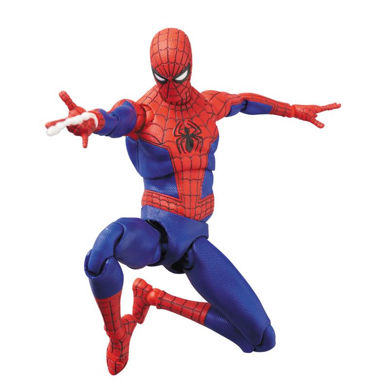 マフェックス No.109 MAFEX『スパイダーマン(ピーター・B・パーカー/Peter B. Parker)』Spider-Man: Into the Spider-Verse アクションフィギュア-008