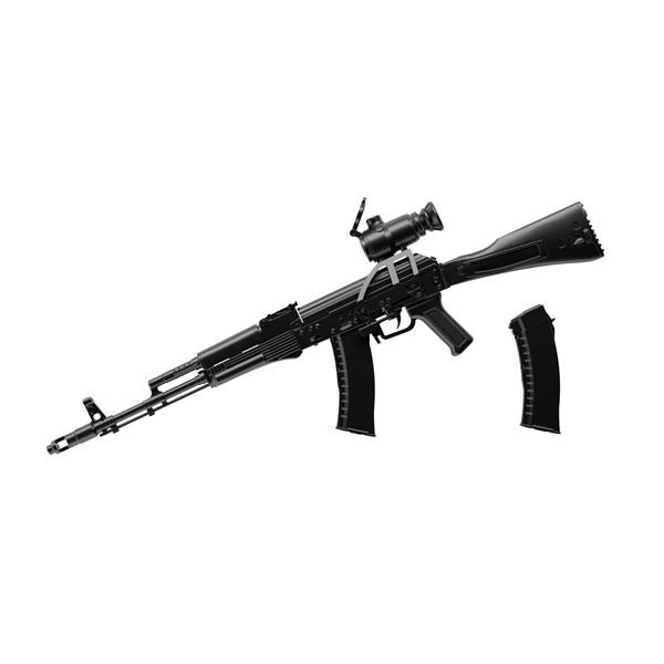 リトルアーモリー LA060『AK74Mタイプ』1/12 プラモデル