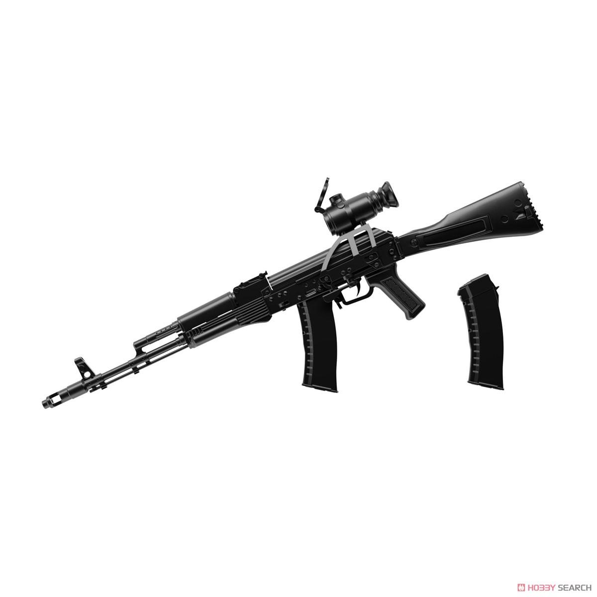 リトルアーモリー LA060『AK74Mタイプ』1/12 プラモデル-001