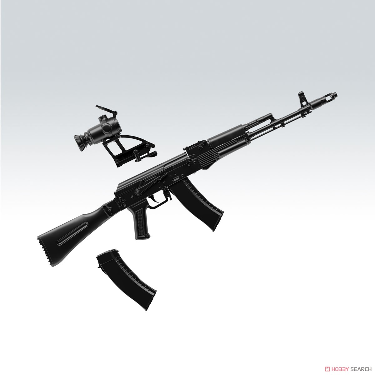 リトルアーモリー LA060『AK74Mタイプ』1/12 プラモデル-002