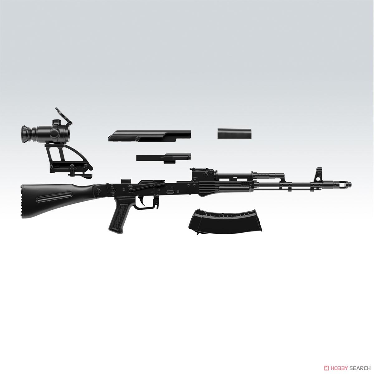リトルアーモリー LA060『AK74Mタイプ』1/12 プラモデル-003