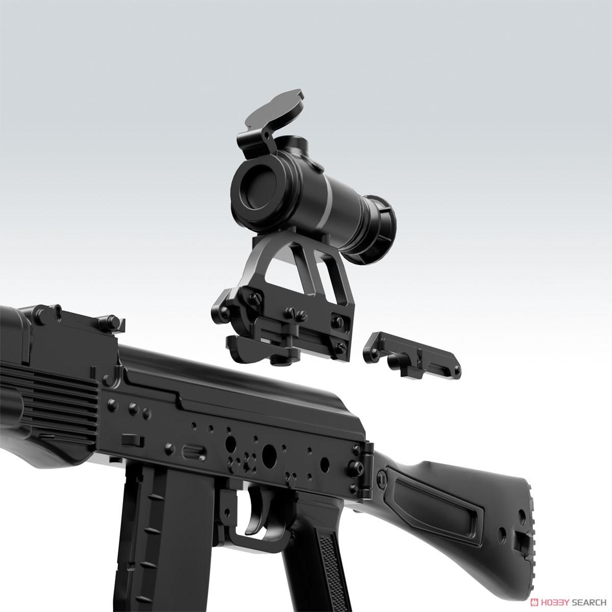 リトルアーモリー LA060『AK74Mタイプ』1/12 プラモデル-004