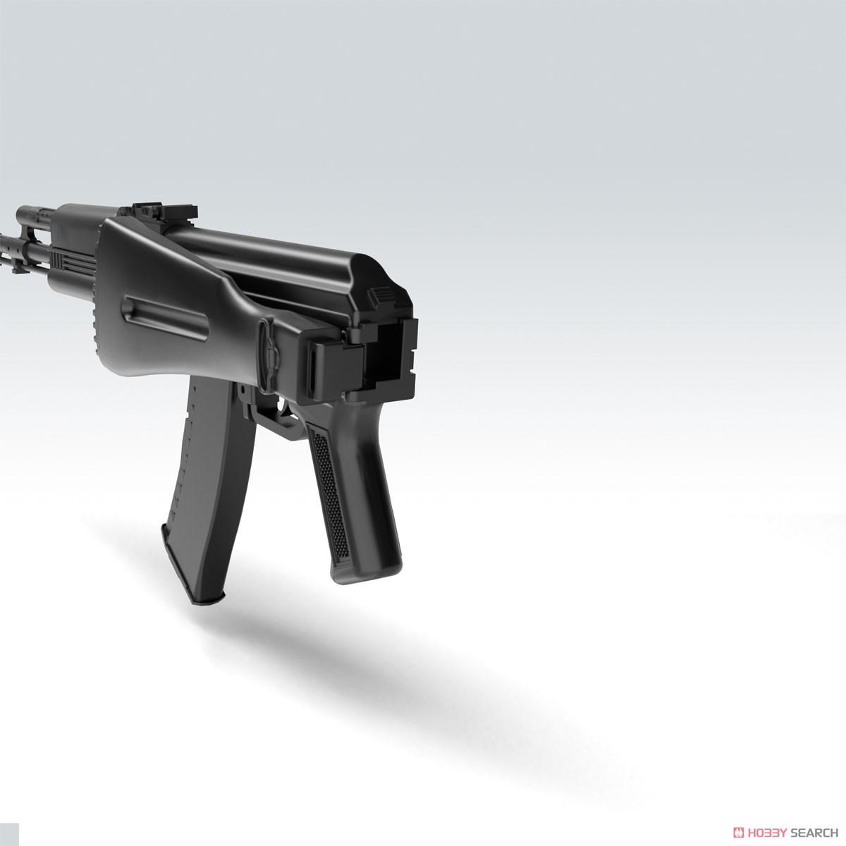 リトルアーモリー LA060『AK74Mタイプ』1/12 プラモデル-008