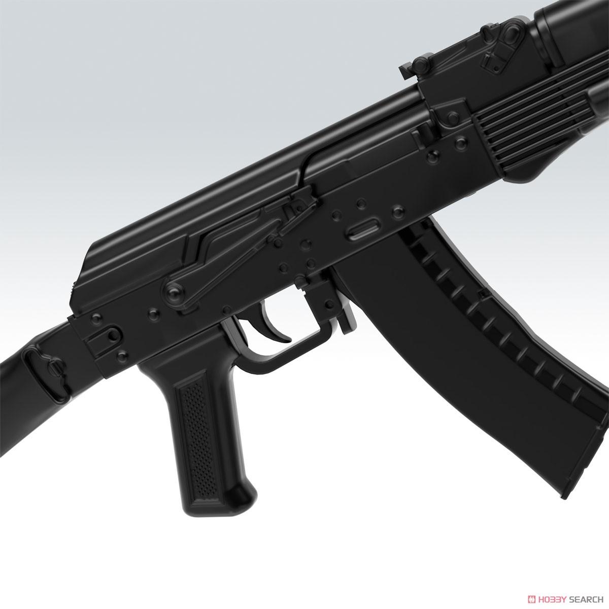 リトルアーモリー LA060『AK74Mタイプ』1/12 プラモデル-010