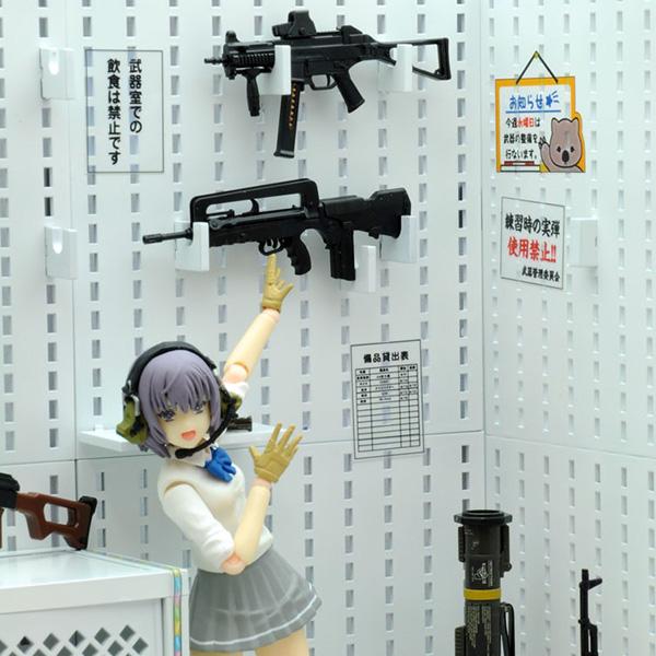 リトルアーモリー LD027『武器室A』1/12 プラモデル