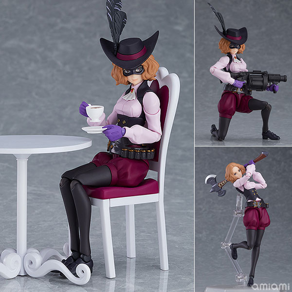 figma『ノワール DX ver.』PERSONA5 the Animation 可動フィギュア