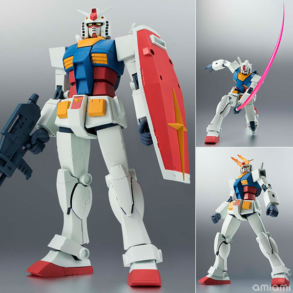 【再販】ROBOT魂〈SIDE MS〉『RX-78-2 ガンダム ver. A.N.I.M.E.』機動戦士ガンダム 可動フィギュア