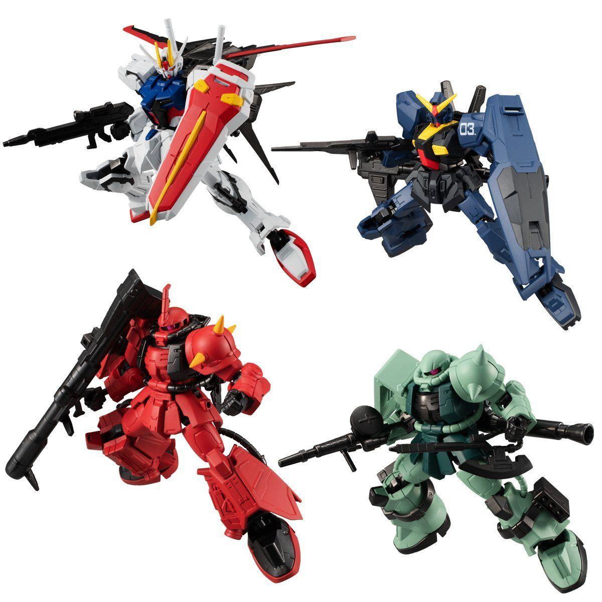 【食玩】機動戦士ガンダム『Gフレーム10』可動フィギュア 10個入りBOX-001
